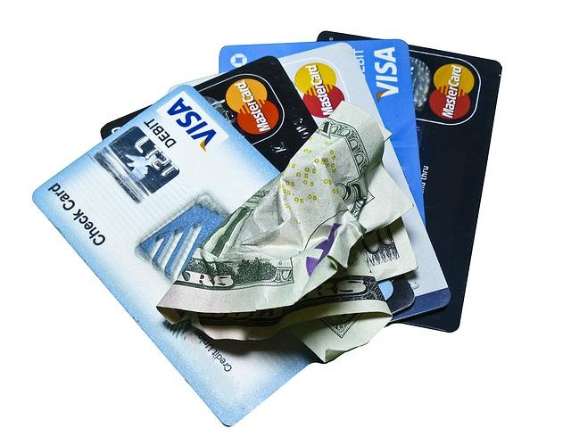 bankovka na kreditkách