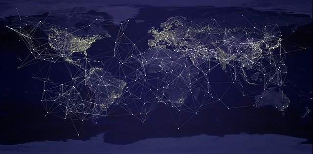 internetové propojení se světem
