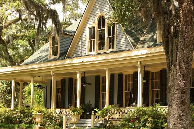 krásný starý dům